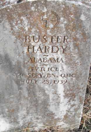 HARDY (VETERAN), BUSTER - Pulaski County, Arkansas | BUSTER HARDY (VETERAN) - Arkansas Gravestone Photos