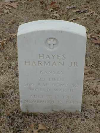 HARMAN, JR (VETERAN WWII), HAYES - Pulaski County, Arkansas   HAYES HARMAN, JR (VETERAN WWII) - Arkansas Gravestone Photos