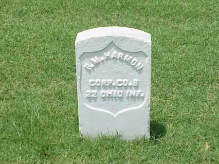 HARMON (VETERAN UNION), F M - Pulaski County, Arkansas | F M HARMON (VETERAN UNION) - Arkansas Gravestone Photos