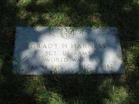 HARNESS (VETERAN WWII), GRADY H - Pulaski County, Arkansas | GRADY H HARNESS (VETERAN WWII) - Arkansas Gravestone Photos