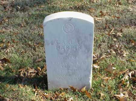 HARPER  (VETERAN 3 WARS), CARL G - Pulaski County, Arkansas   CARL G HARPER  (VETERAN 3 WARS) - Arkansas Gravestone Photos