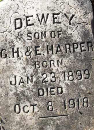 HARPER, DEWEY - Pulaski County, Arkansas | DEWEY HARPER - Arkansas Gravestone Photos
