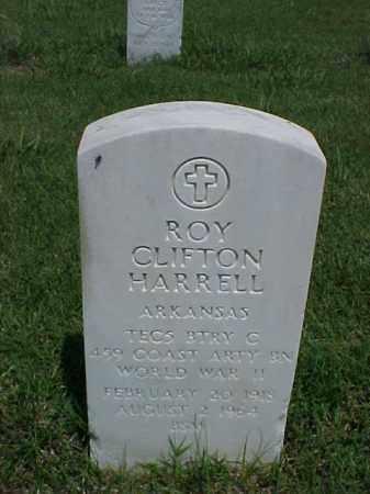 HARRELL (VETERAN WWII), ROY CLIFTON - Pulaski County, Arkansas   ROY CLIFTON HARRELL (VETERAN WWII) - Arkansas Gravestone Photos