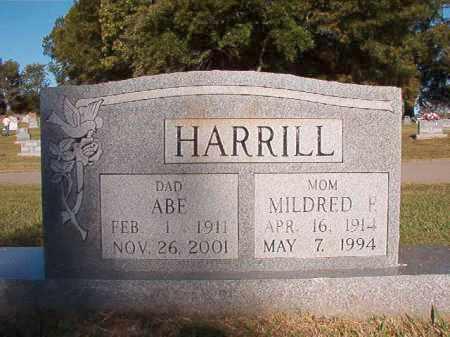 HARRILL, ABE - Pulaski County, Arkansas | ABE HARRILL - Arkansas Gravestone Photos