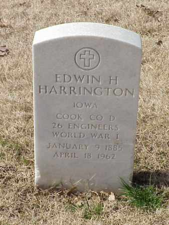 HARRINGTON  (VETERAN WWI), EDWIN H - Pulaski County, Arkansas | EDWIN H HARRINGTON  (VETERAN WWI) - Arkansas Gravestone Photos