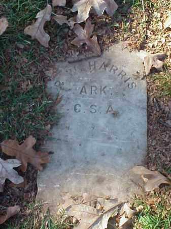 HARRIS  (VETERAN CSA), R W - Pulaski County, Arkansas   R W HARRIS  (VETERAN CSA) - Arkansas Gravestone Photos