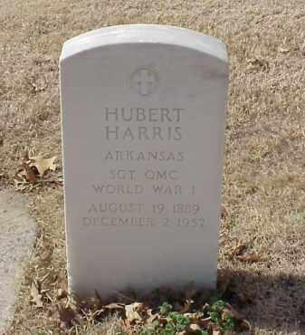 HARRIS  (VETERAN WWI), HUBERT - Pulaski County, Arkansas | HUBERT HARRIS  (VETERAN WWI) - Arkansas Gravestone Photos