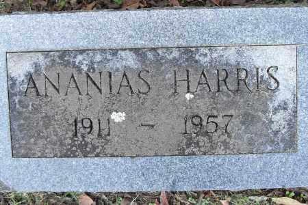 HARRIS, ANANIAS - Pulaski County, Arkansas   ANANIAS HARRIS - Arkansas Gravestone Photos