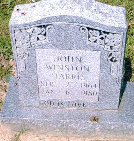 HARRIS, JOHN  WINSTON - Pulaski County, Arkansas   JOHN  WINSTON HARRIS - Arkansas Gravestone Photos