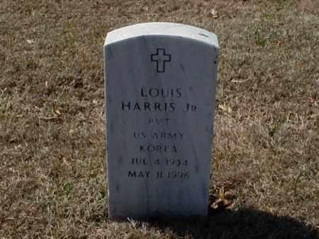 HARRIS, JR (VETERAN KOR), LOUIS - Pulaski County, Arkansas   LOUIS HARRIS, JR (VETERAN KOR) - Arkansas Gravestone Photos