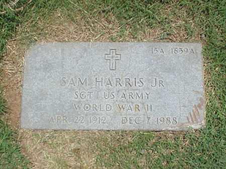 HARRIS, JR (VETERAN WWII), SAM - Pulaski County, Arkansas | SAM HARRIS, JR (VETERAN WWII) - Arkansas Gravestone Photos