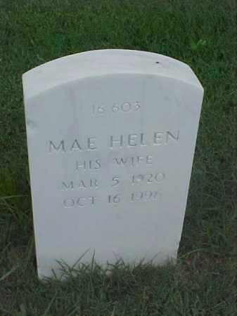 HARRIS, MAE HELEN - Pulaski County, Arkansas | MAE HELEN HARRIS - Arkansas Gravestone Photos