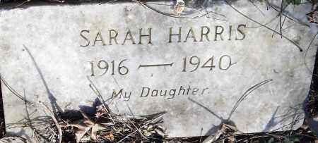 HARRIS, SARAH - Pulaski County, Arkansas | SARAH HARRIS - Arkansas Gravestone Photos
