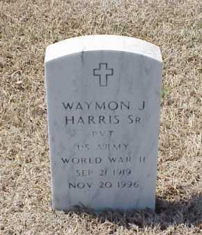 HARRIS, SR (VETERAN WWII), WAYMON J - Pulaski County, Arkansas | WAYMON J HARRIS, SR (VETERAN WWII) - Arkansas Gravestone Photos