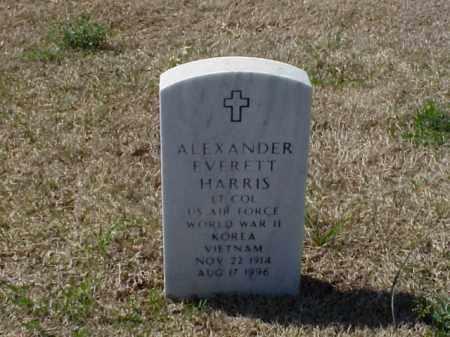 HARRIS (VETERAN 3 WARS), ALEXANDER EVERETT - Pulaski County, Arkansas | ALEXANDER EVERETT HARRIS (VETERAN 3 WARS) - Arkansas Gravestone Photos