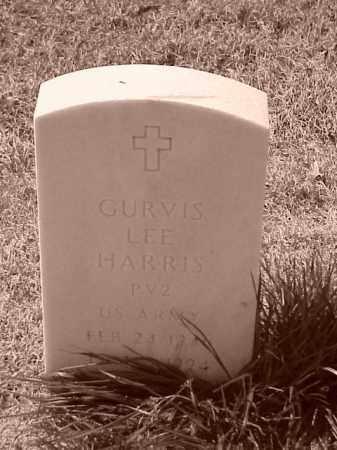 HARRIS (VETERAN), GURVIS LEE - Pulaski County, Arkansas | GURVIS LEE HARRIS (VETERAN) - Arkansas Gravestone Photos