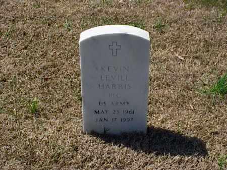 HARRIS (VETERAN), KEVIN LEVILL - Pulaski County, Arkansas | KEVIN LEVILL HARRIS (VETERAN) - Arkansas Gravestone Photos