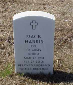 HARRIS (VETERAN KOR), MACK - Pulaski County, Arkansas   MACK HARRIS (VETERAN KOR) - Arkansas Gravestone Photos