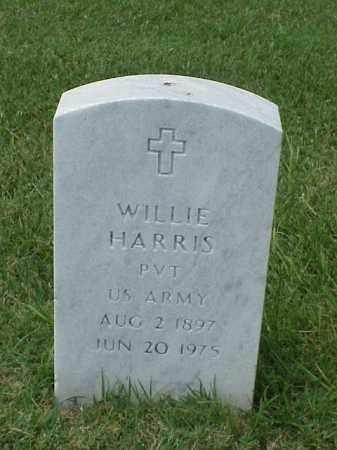 HARRIS (VETERAN WWI), WILLIE - Pulaski County, Arkansas | WILLIE HARRIS (VETERAN WWI) - Arkansas Gravestone Photos