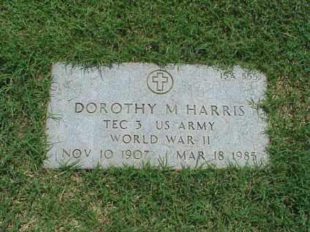 HARRIS (VETERAN WWII), DOROTHY M - Pulaski County, Arkansas | DOROTHY M HARRIS (VETERAN WWII) - Arkansas Gravestone Photos
