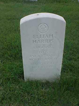 HARRIS (VETERAN WWII), ELIJAH - Pulaski County, Arkansas | ELIJAH HARRIS (VETERAN WWII) - Arkansas Gravestone Photos