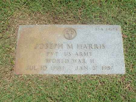 HARRIS (VETERAN WWII), JOSEPH M - Pulaski County, Arkansas | JOSEPH M HARRIS (VETERAN WWII) - Arkansas Gravestone Photos