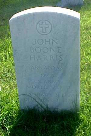 HARRIS (VETERAN WWII), JOHN BOONE - Pulaski County, Arkansas | JOHN BOONE HARRIS (VETERAN WWII) - Arkansas Gravestone Photos