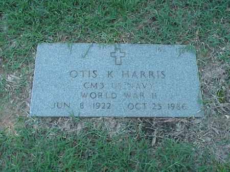 HARRIS (VETERAN WWII), OTIS K - Pulaski County, Arkansas   OTIS K HARRIS (VETERAN WWII) - Arkansas Gravestone Photos
