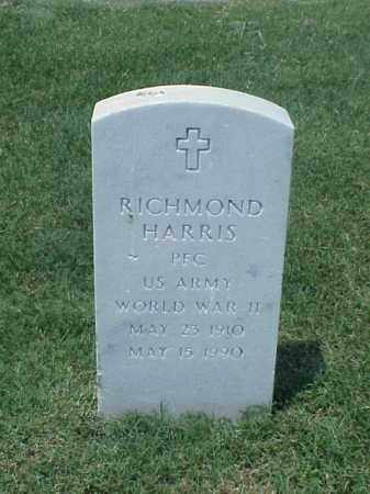 HARRIS (VETERAN WWII), RICHMOND - Pulaski County, Arkansas   RICHMOND HARRIS (VETERAN WWII) - Arkansas Gravestone Photos