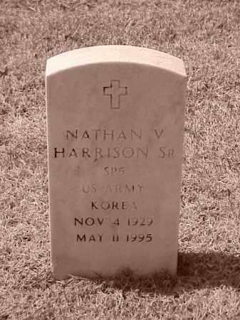 HARRISON, SR (VETERAN KOR), NATHAN V - Pulaski County, Arkansas | NATHAN V HARRISON, SR (VETERAN KOR) - Arkansas Gravestone Photos