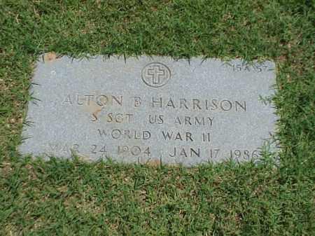HARRISON (VETERAN WWII), ALTON B - Pulaski County, Arkansas | ALTON B HARRISON (VETERAN WWII) - Arkansas Gravestone Photos
