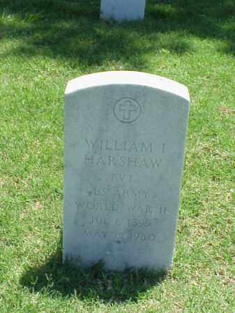 HARSHAW (VETERAN WWII), WILLIAM I - Pulaski County, Arkansas | WILLIAM I HARSHAW (VETERAN WWII) - Arkansas Gravestone Photos