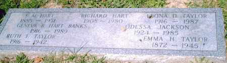 HART, F. M. - Pulaski County, Arkansas | F. M. HART - Arkansas Gravestone Photos