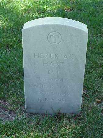 HART (VETERAN WWI), HEZEKIAK - Pulaski County, Arkansas   HEZEKIAK HART (VETERAN WWI) - Arkansas Gravestone Photos