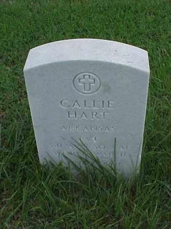 HART (VETERAN WWII), CALLIE - Pulaski County, Arkansas | CALLIE HART (VETERAN WWII) - Arkansas Gravestone Photos