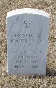 HARTLEY, JR (VETERAN VIET), FRANK A - Pulaski County, Arkansas | FRANK A HARTLEY, JR (VETERAN VIET) - Arkansas Gravestone Photos