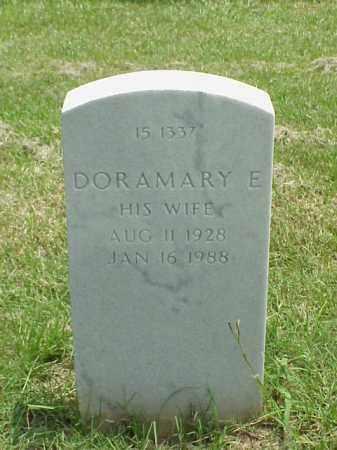 HARTMANN, DORAMARY E - Pulaski County, Arkansas | DORAMARY E HARTMANN - Arkansas Gravestone Photos