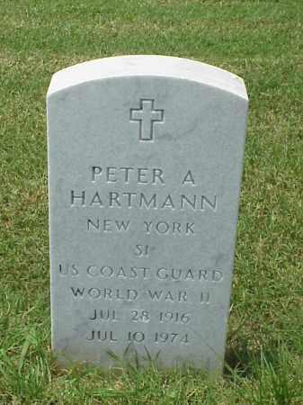 HARTMANN (VETERAN WWII), PETER A - Pulaski County, Arkansas   PETER A HARTMANN (VETERAN WWII) - Arkansas Gravestone Photos