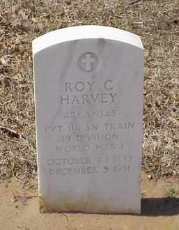 HARVEY  (VETERAN WWI), ROY C - Pulaski County, Arkansas   ROY C HARVEY  (VETERAN WWI) - Arkansas Gravestone Photos