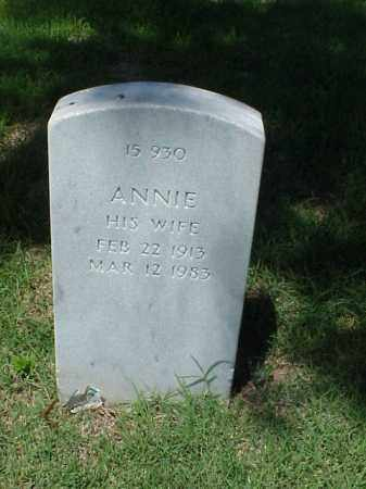 HARVEY, ANNIE - Pulaski County, Arkansas | ANNIE HARVEY - Arkansas Gravestone Photos