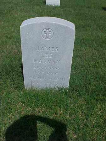 HARVEY (VETERAN WWII), JAMES LEE - Pulaski County, Arkansas | JAMES LEE HARVEY (VETERAN WWII) - Arkansas Gravestone Photos
