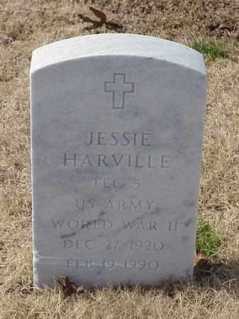 HARVILLE  (VETERAN WWII), JESSIE - Pulaski County, Arkansas | JESSIE HARVILLE  (VETERAN WWII) - Arkansas Gravestone Photos
