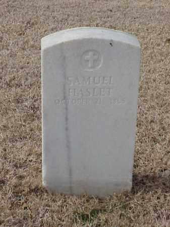 HASLET  (VETERAN UNION), SAMUEL - Pulaski County, Arkansas | SAMUEL HASLET  (VETERAN UNION) - Arkansas Gravestone Photos