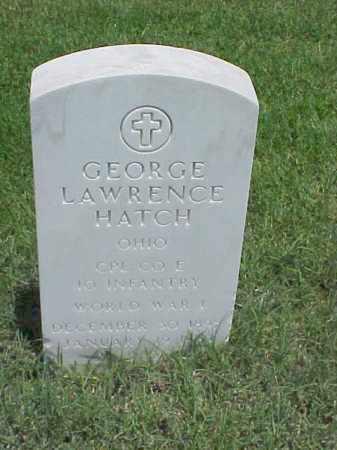 HATCH (VETERAN WWI), GEORGE LAWRENCE - Pulaski County, Arkansas | GEORGE LAWRENCE HATCH (VETERAN WWI) - Arkansas Gravestone Photos