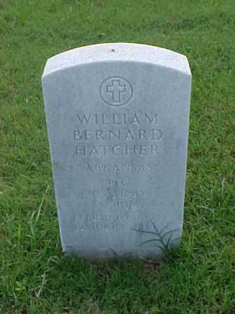 HATCHER (VETERAN KOR), WILLIAM BERNARD - Pulaski County, Arkansas | WILLIAM BERNARD HATCHER (VETERAN KOR) - Arkansas Gravestone Photos