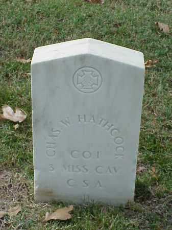 HATHCOCK  (VETERAN CSA), CHARLES W - Pulaski County, Arkansas | CHARLES W HATHCOCK  (VETERAN CSA) - Arkansas Gravestone Photos