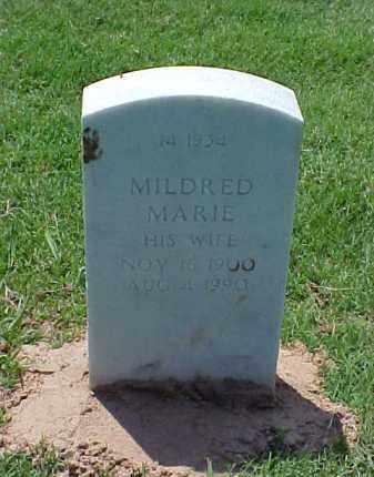 HATLIN, MILDRED MARIE - Pulaski County, Arkansas   MILDRED MARIE HATLIN - Arkansas Gravestone Photos