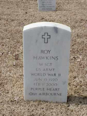 HAWKINS  (VETERAN WWII), ROY - Pulaski County, Arkansas   ROY HAWKINS  (VETERAN WWII) - Arkansas Gravestone Photos