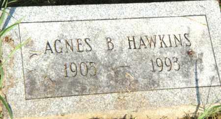 HAWKINS, AGNES B - Pulaski County, Arkansas | AGNES B HAWKINS - Arkansas Gravestone Photos