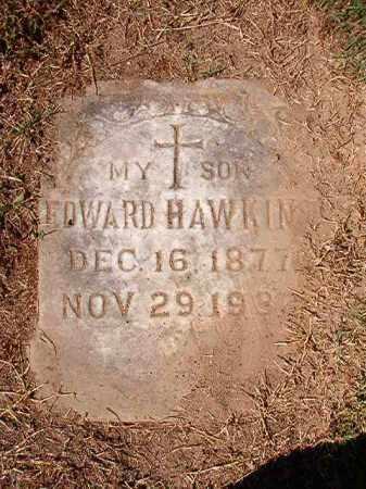 HAWKINS, EDWARD - Pulaski County, Arkansas | EDWARD HAWKINS - Arkansas Gravestone Photos